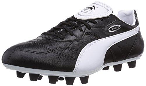 reputable site bba5a 8c56a Puma Liga Classico FG, Herren Fußballschuhe, Schwarz black-white silver 01,  45 EU 10.5 Herren UK